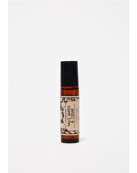 Palo Santo Cedar Ritual Oil