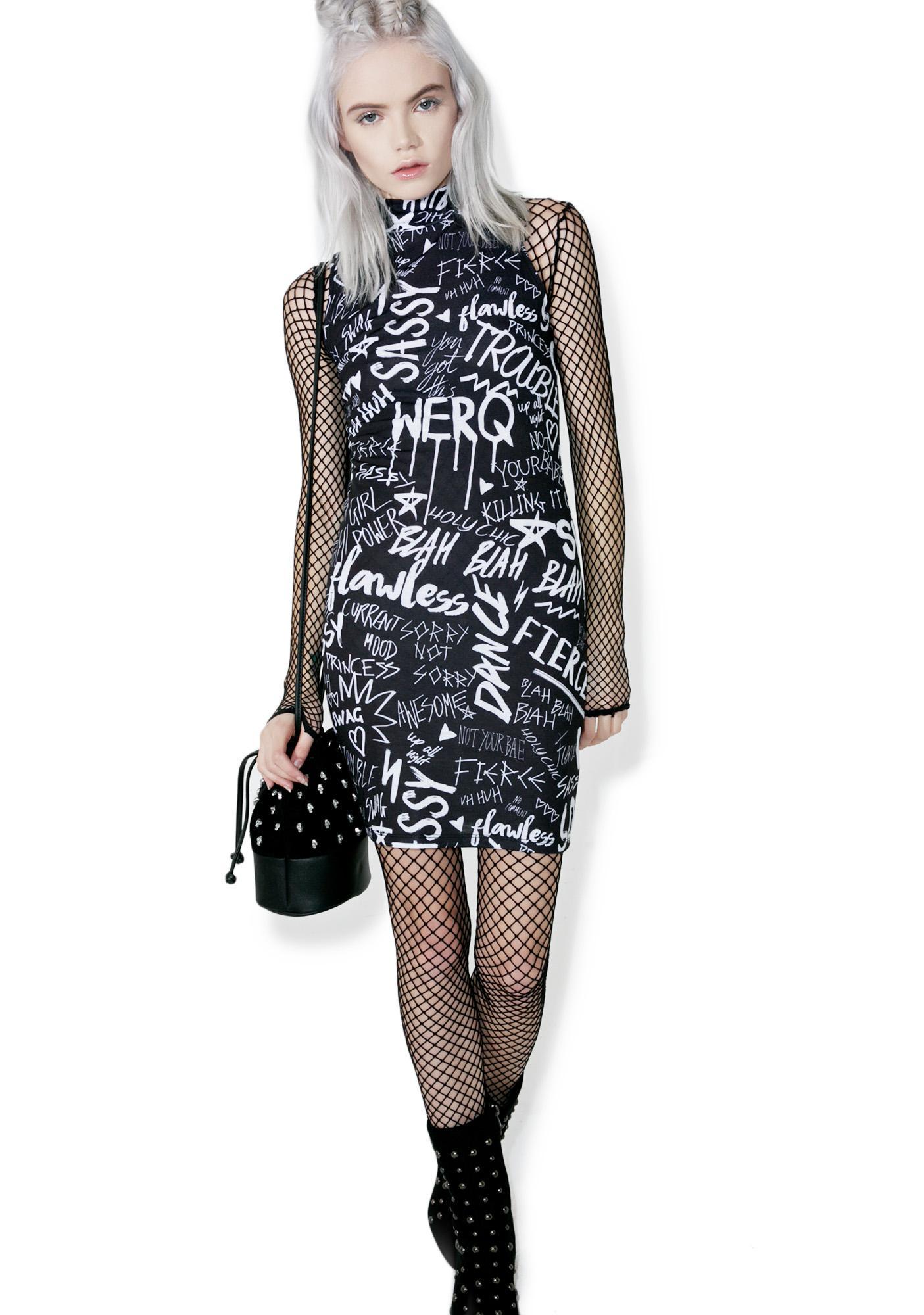 Jaded London Get Confident Mini Dress