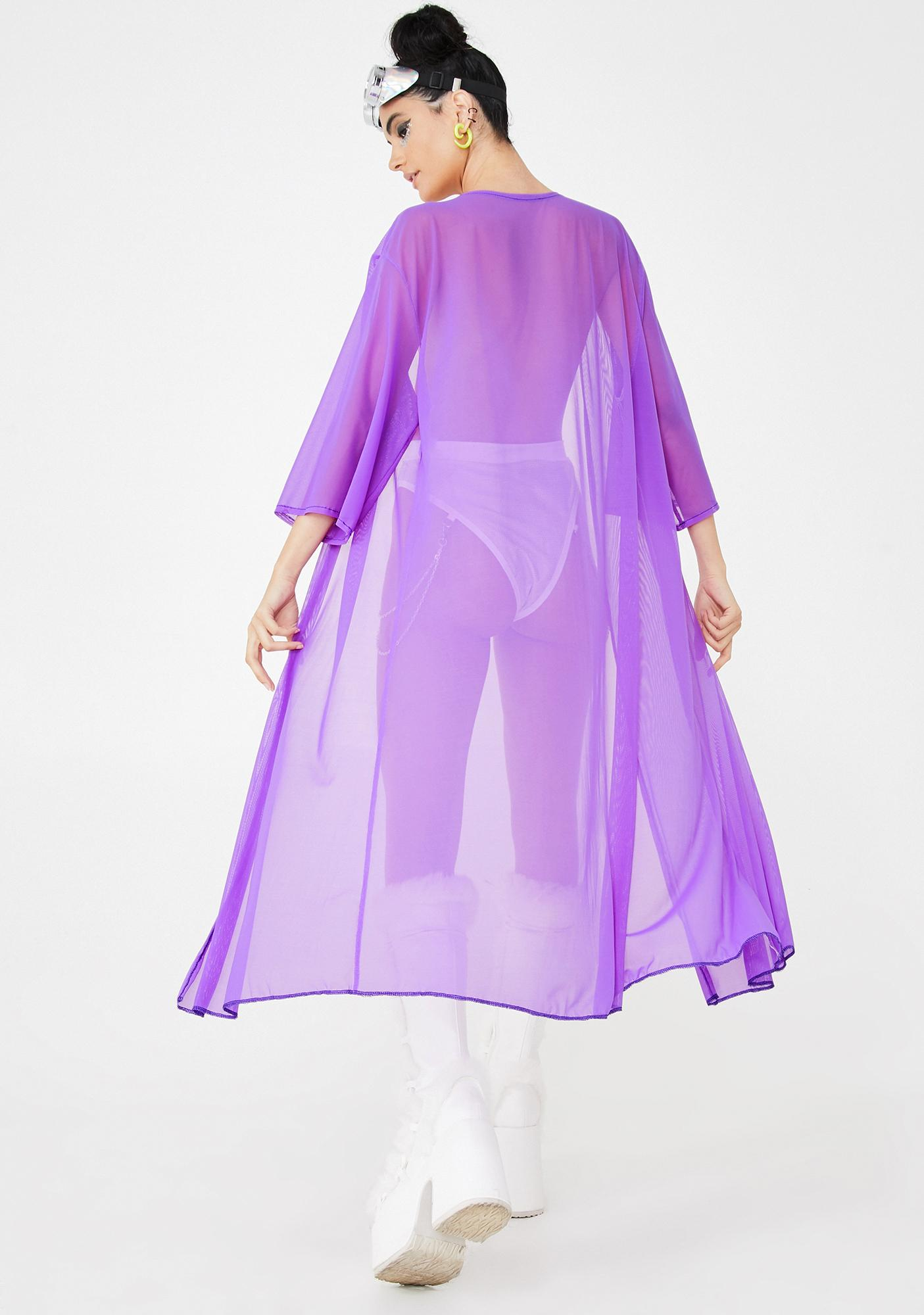 Rolita Rave Couture Inferno Mesh Cover Up
