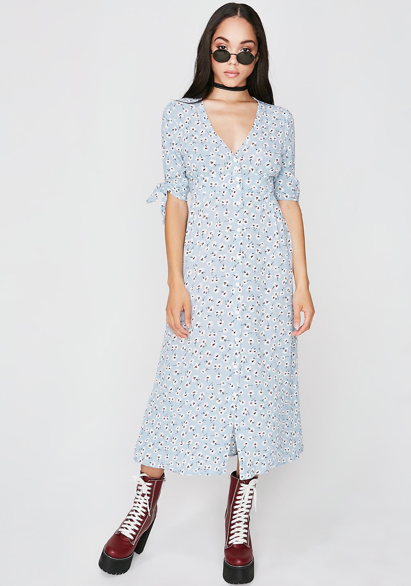 Ditsy Daisy Maxi Dress