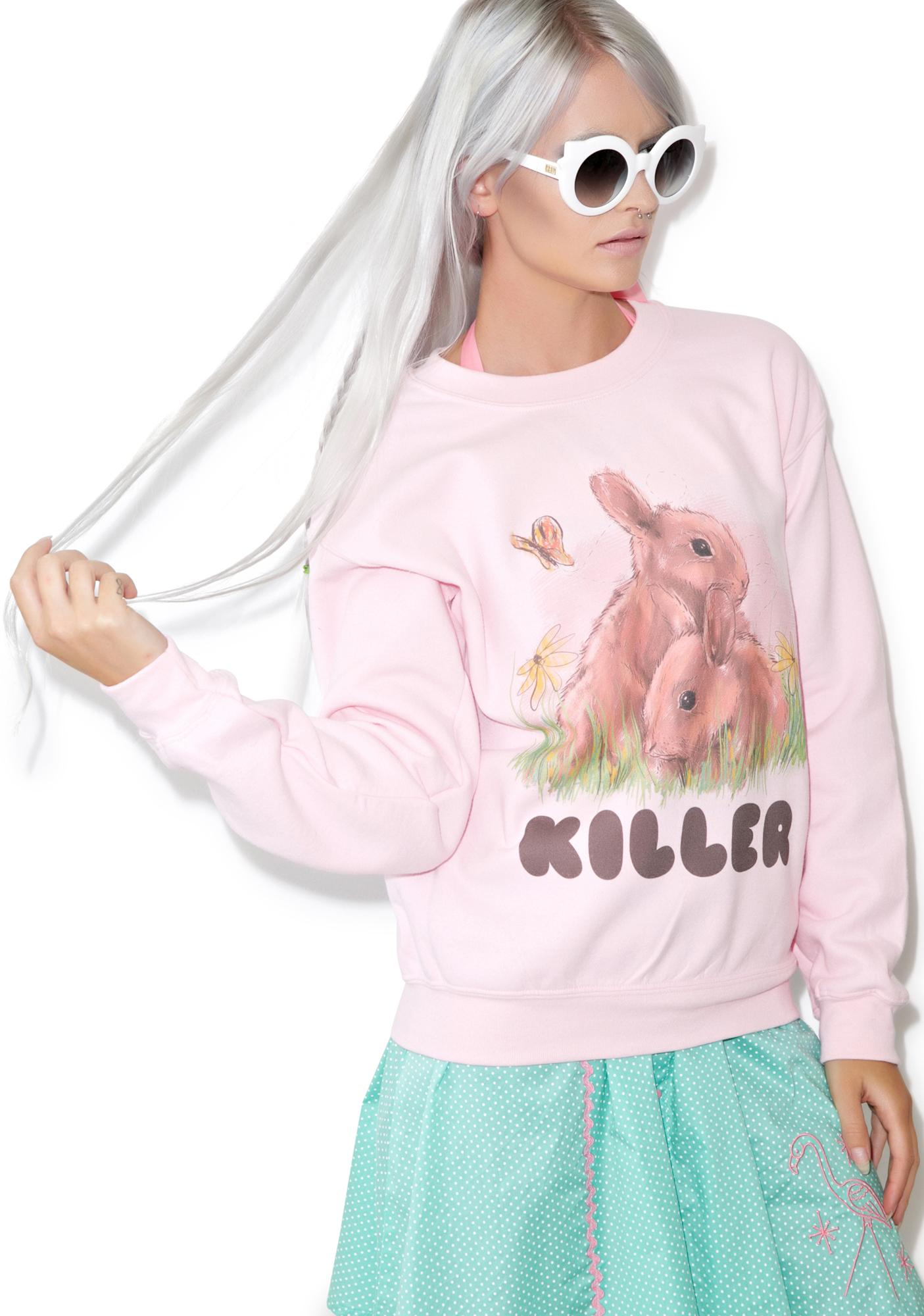 Kill Brand Loose Bunny Sweatshirt