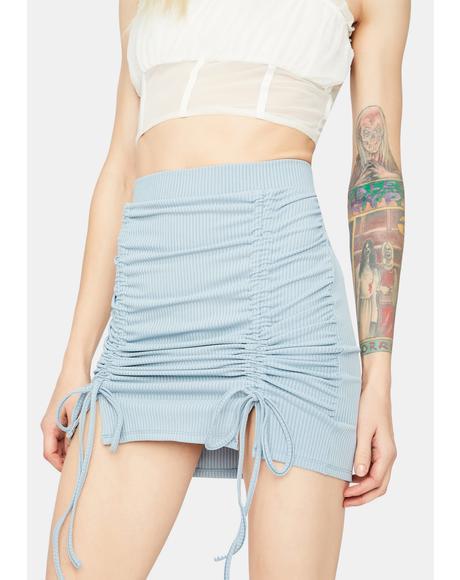 Crushin' It Ruched Bodycon Skirt
