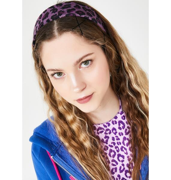 Sass Mode Leopard Headband