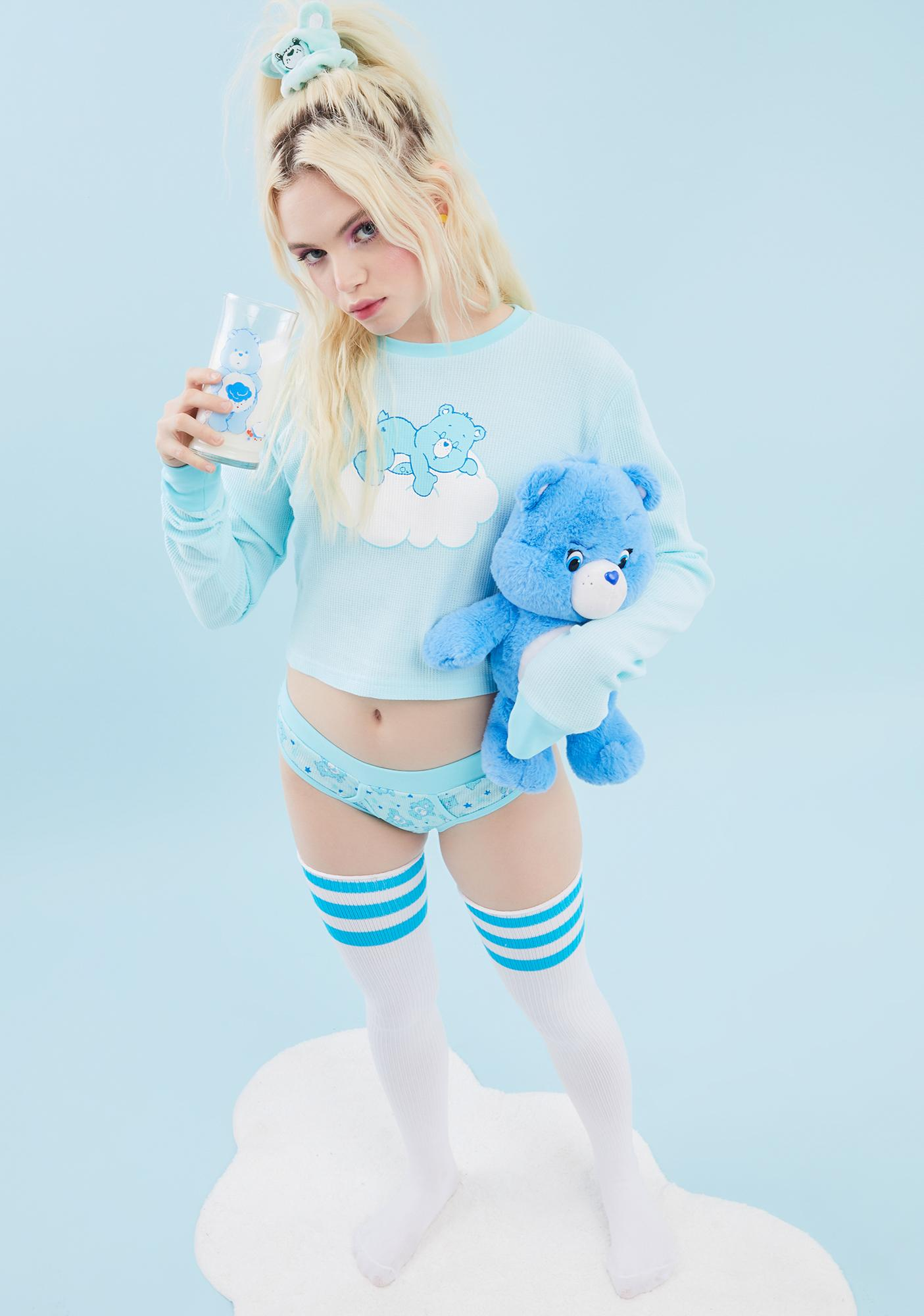 Dolls Kill x Care Bears Cuddle Puddle Thermal Top