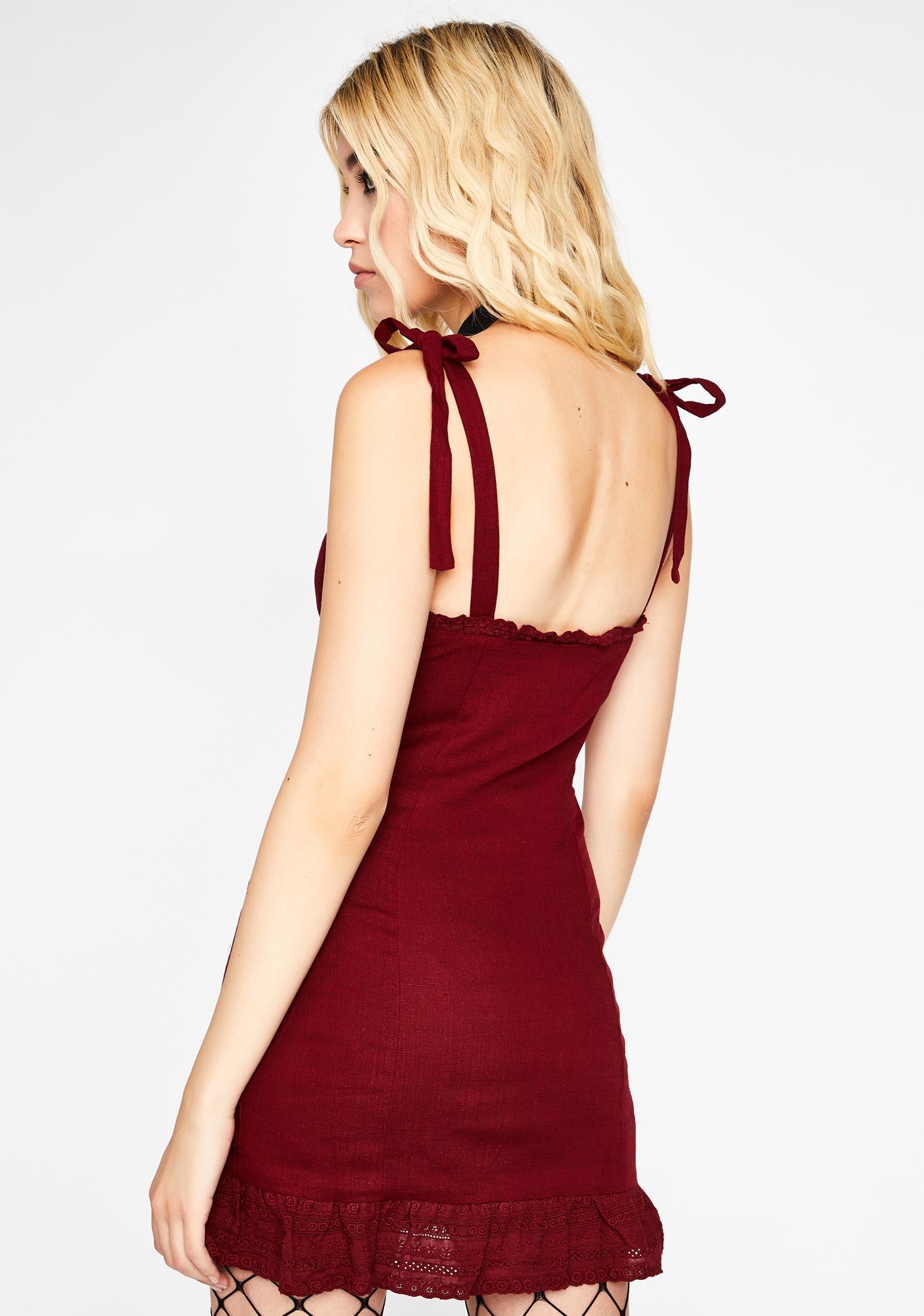Hotter Than Ur Next Mini Dress