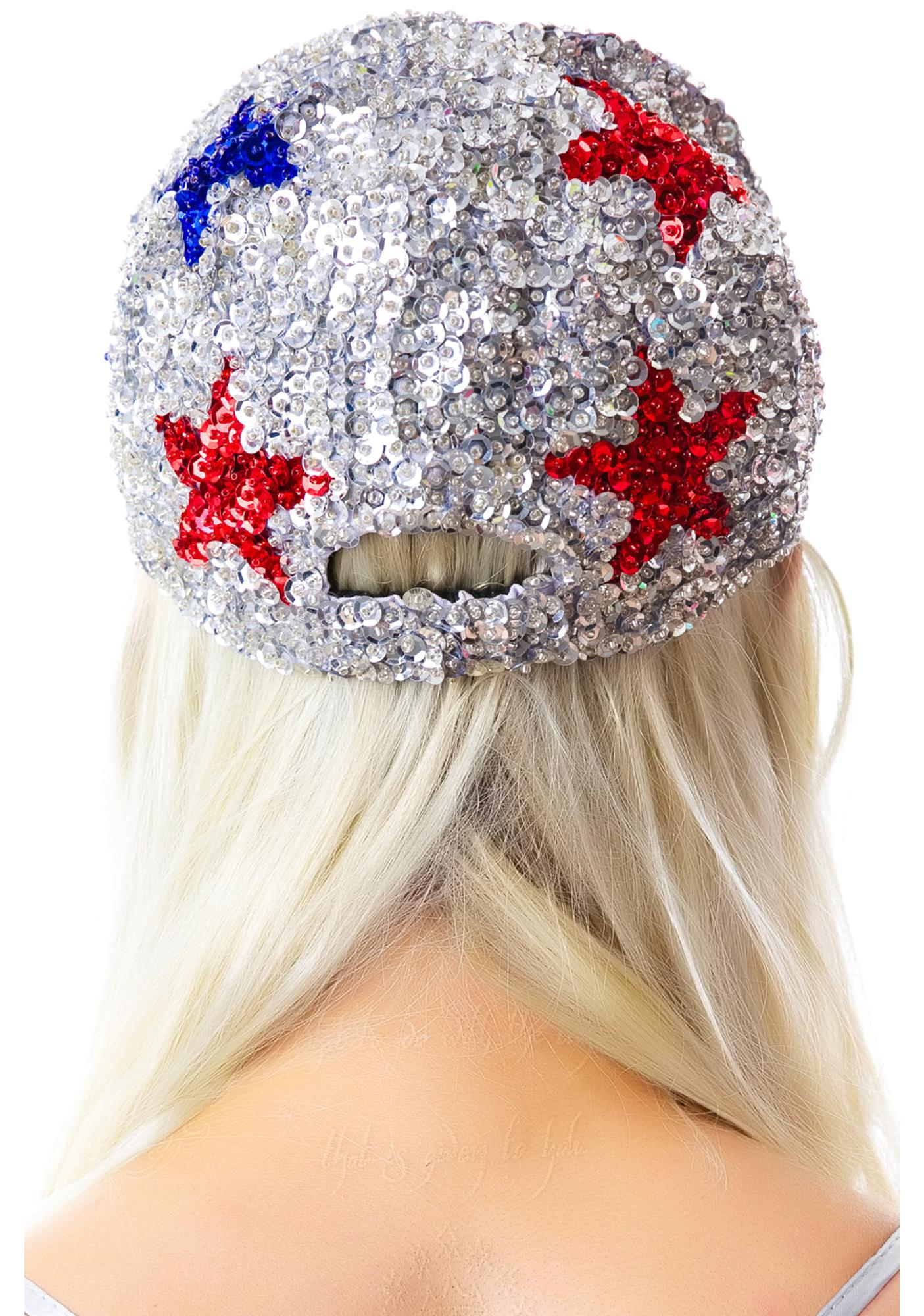 CoCo's Star Bangled Crystalized Cap