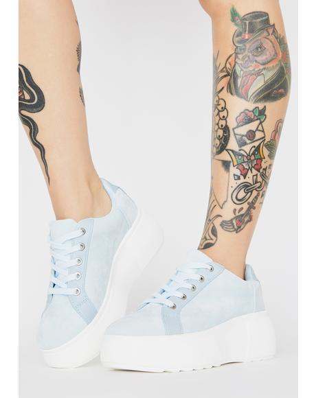 Sky Bree Platform Sneakers
