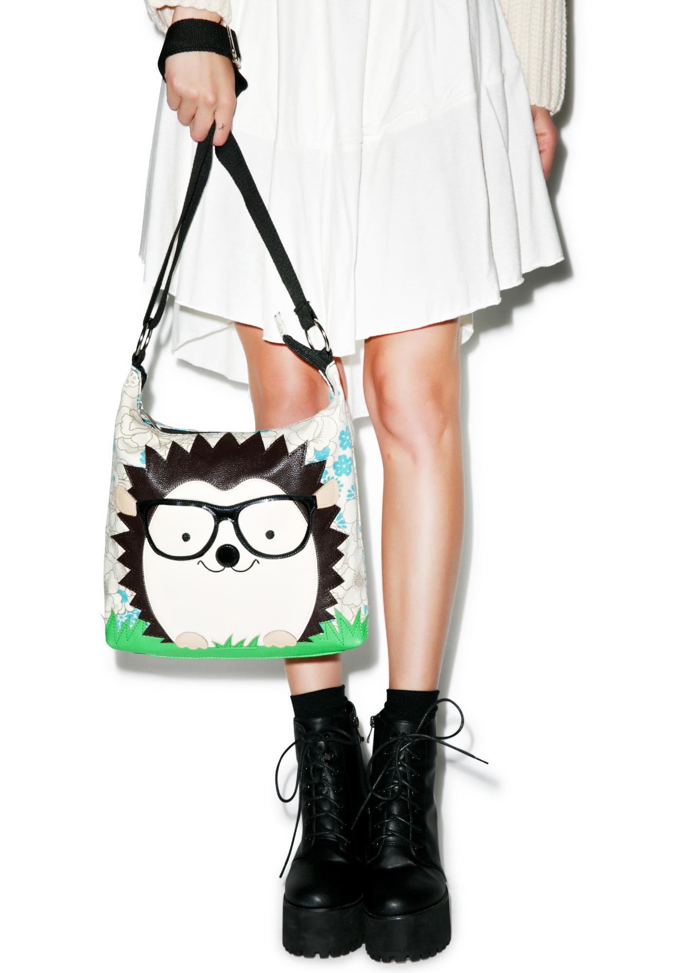 Nerdy Hedgehog Shoulder Bag