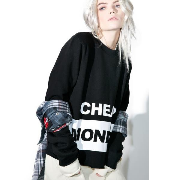 Cheap Monday Coach Block Logo Sweat