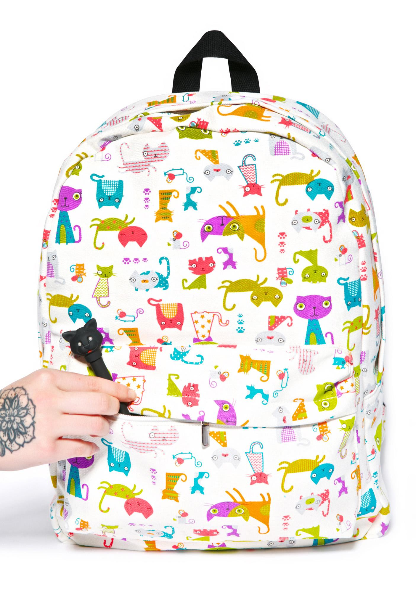 Kitten Caboodle Backpack