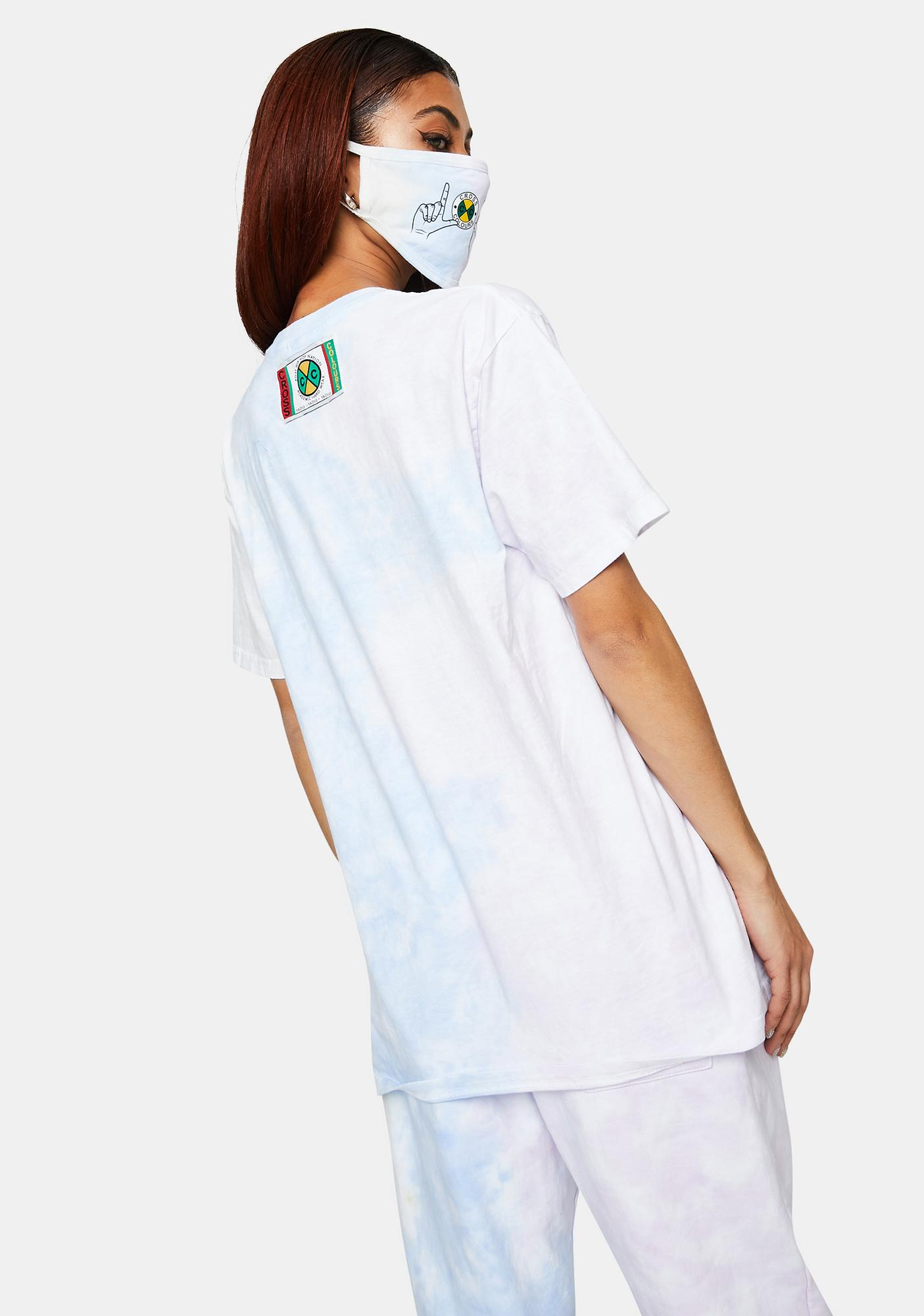 Cross Colours Love Tie Dye T-Shirt