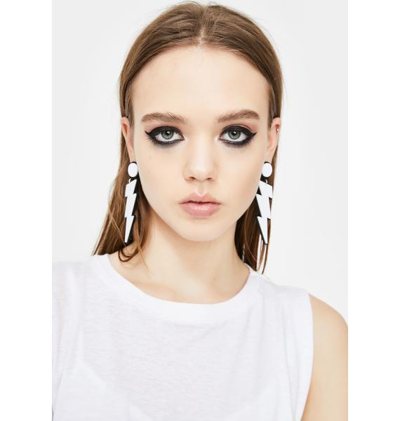 Electric Light Drop Earrings