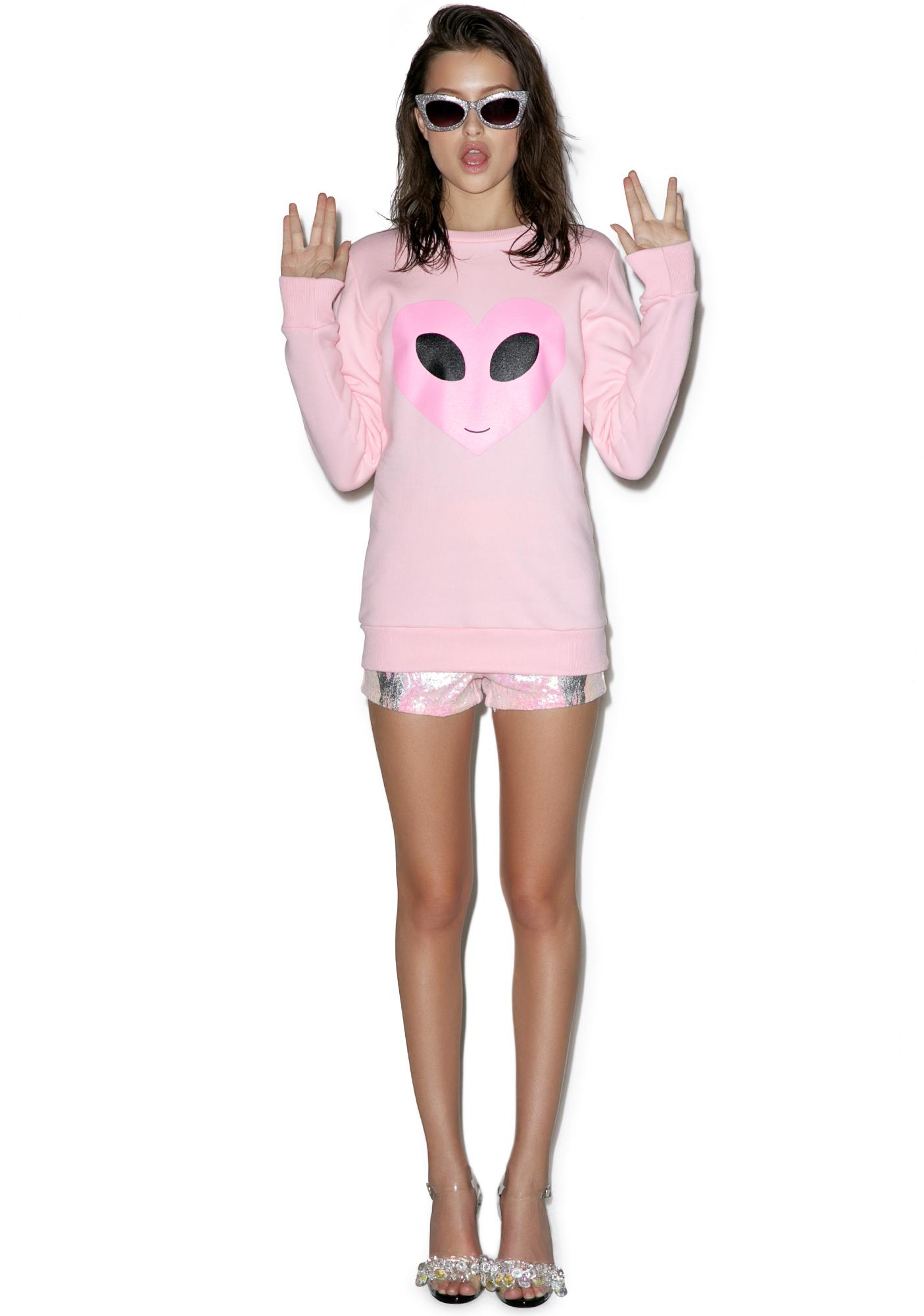 Sugarpills Alien Sweatshirt