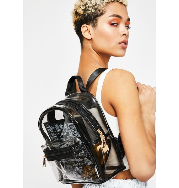 Vile Stash Clear Backpack