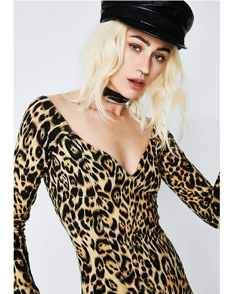 Leopard Essense Dress