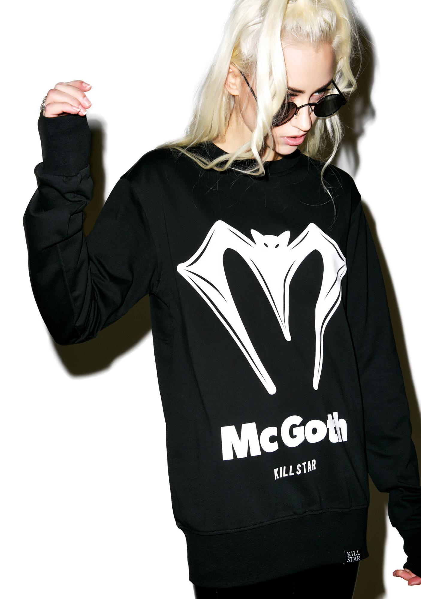 Killstar McGoth Sweatshirt