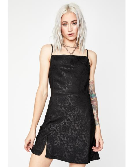 Mood Is Right Slip Dress