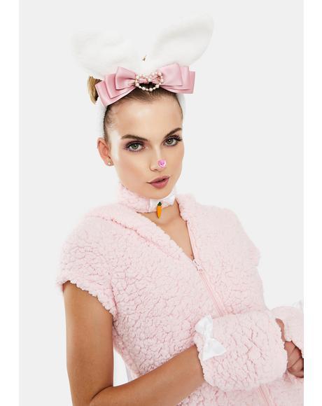 Bunny Love Fuzzy Headband