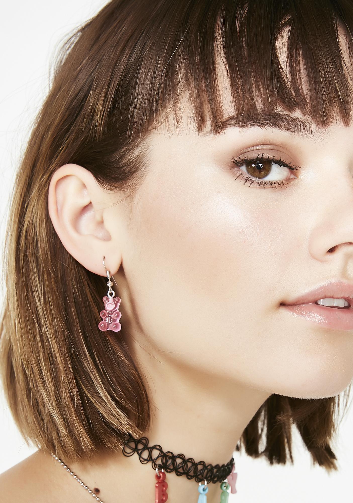 Sugar Fix Gummy Bear Earrings