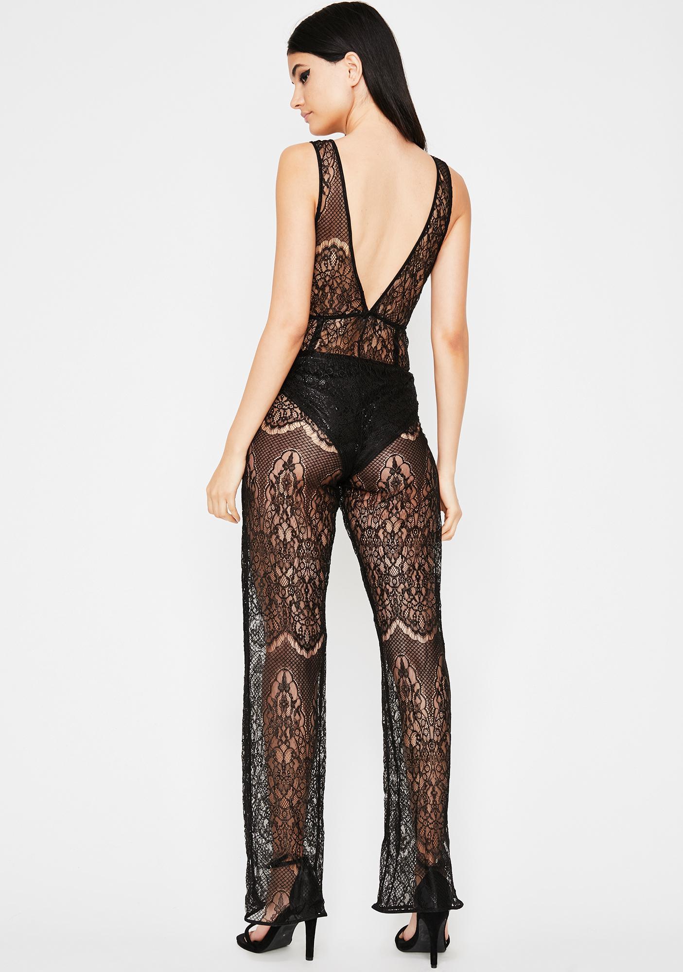 Dark Desire Lace Jumpsuit