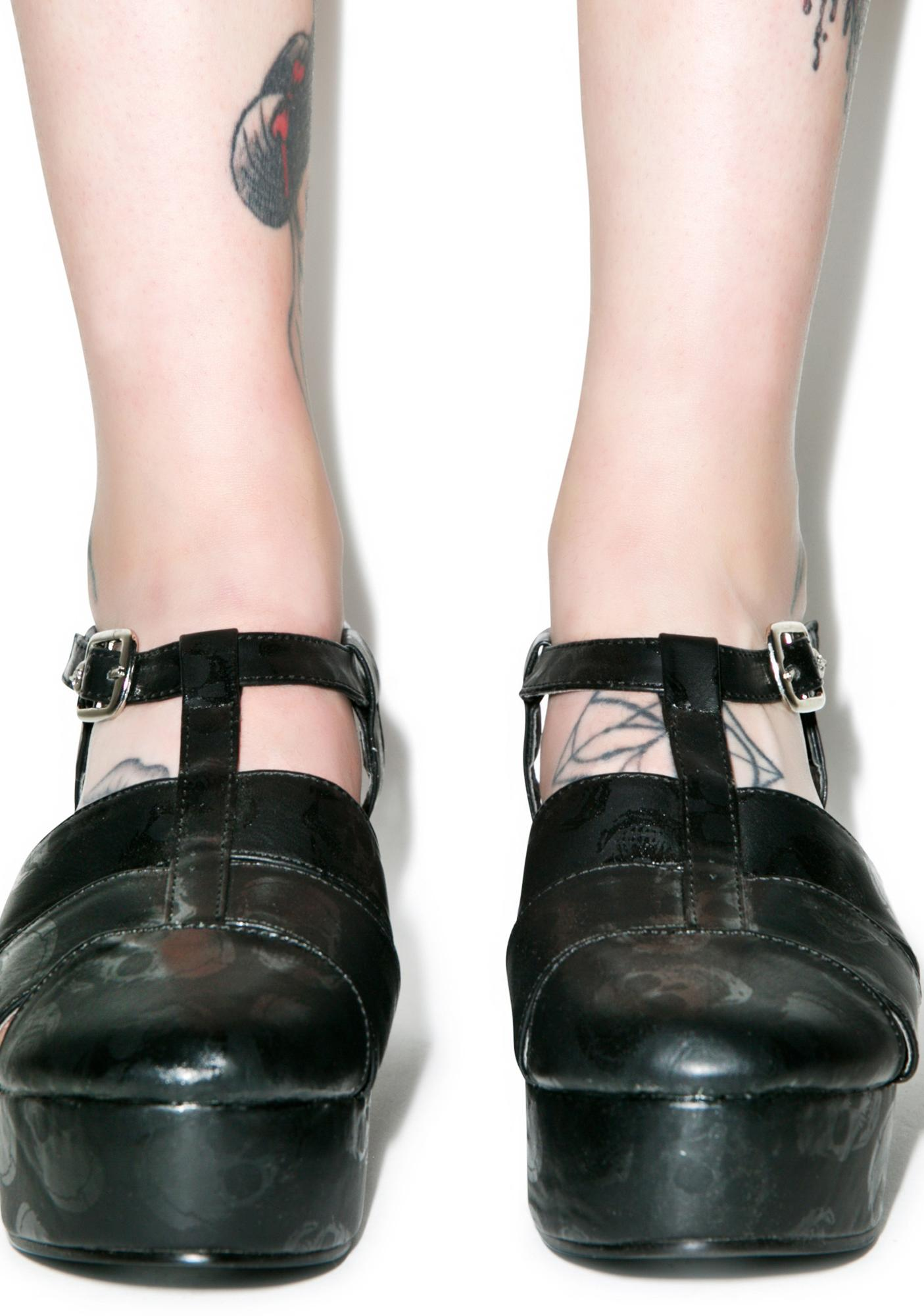 Iron Fist Ashes To Ashes Flatform Sandals
