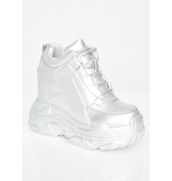 Current Mood Technologic Platform Sneakers