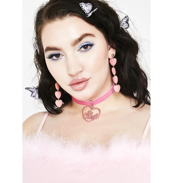 Sweet Stuff Heart Earrings