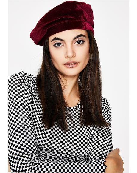 Wine Angelz Kiss Beret