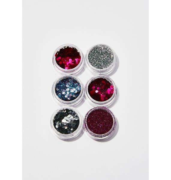 FromNicLove Pinks Cosmetic Face Glitter Set