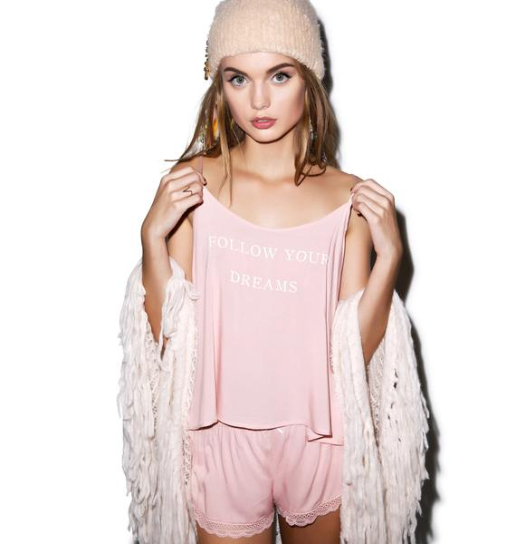 Wildfox Couture Follow Your Dreams Cami Sleep Set