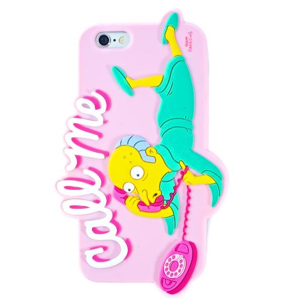 Skinnydip Call Me Silicone iPhone Case