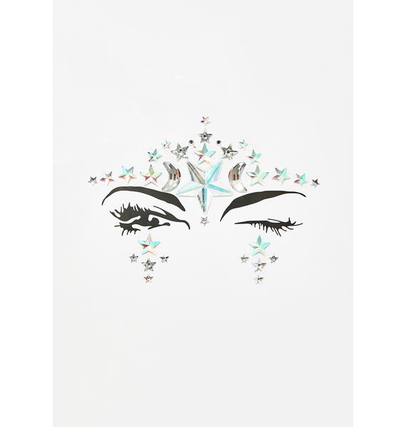 The Gypsy Shrine Starry Eyes Face Jewel