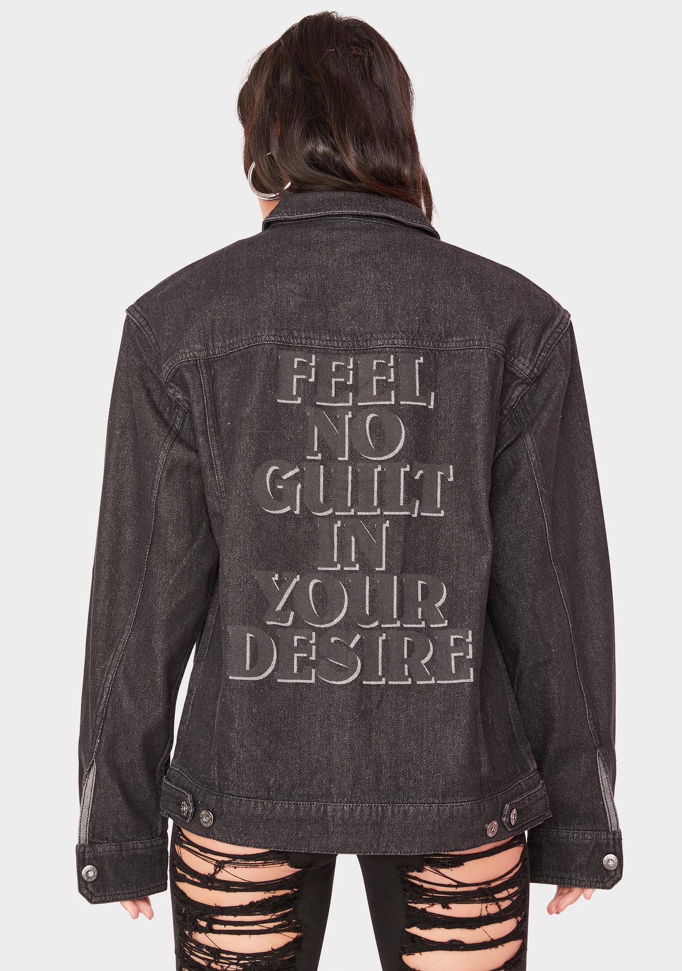 Pleasures Desire Denim Trucker Jacket
