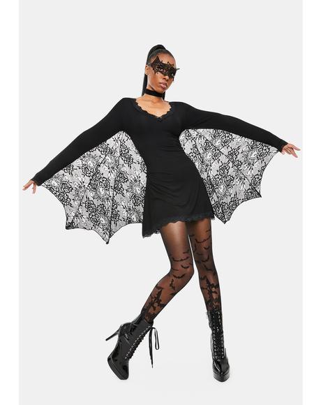 Bashful Bat Costume Dress