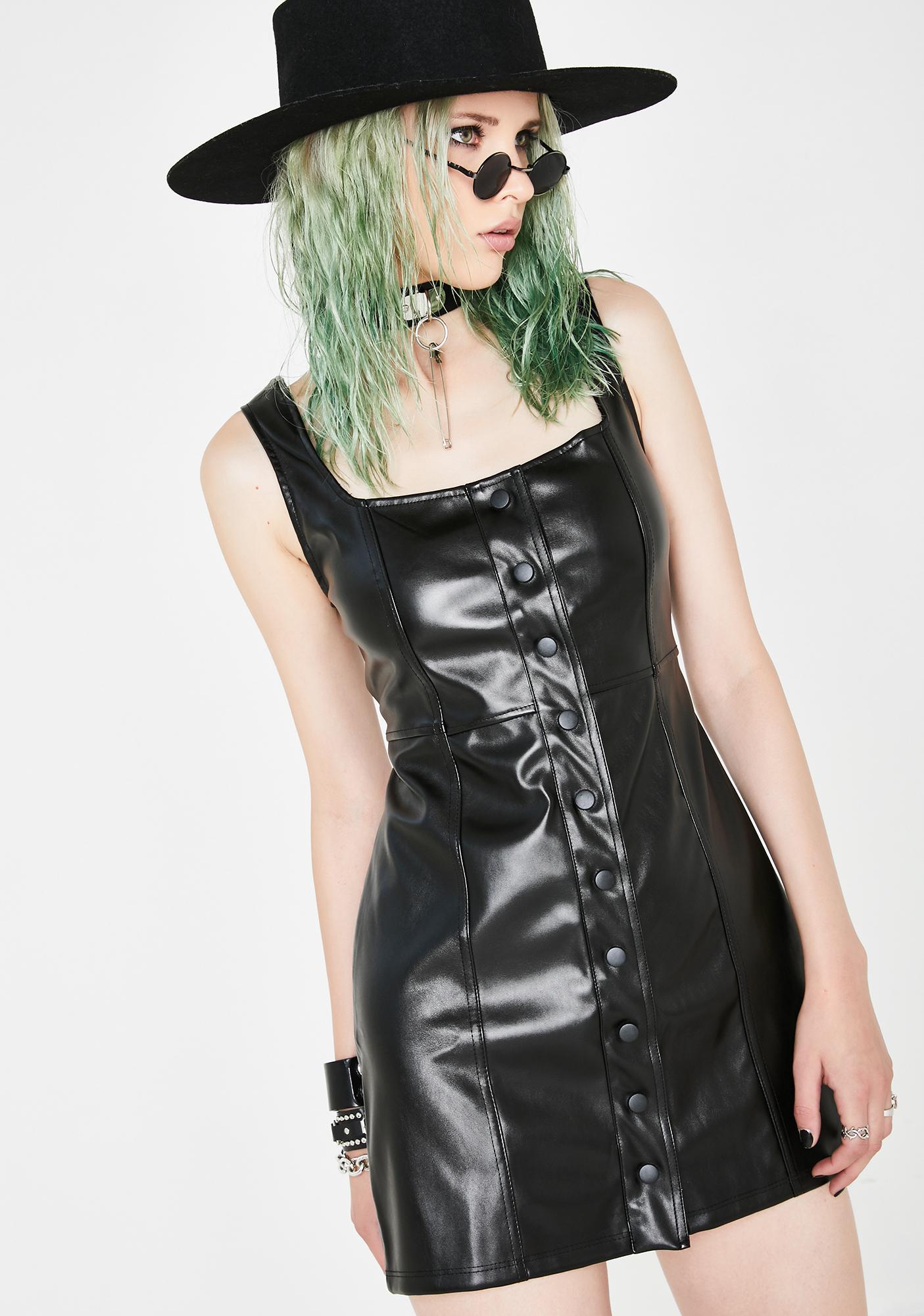Kiki Riki Got A Bad Side Mini Dress