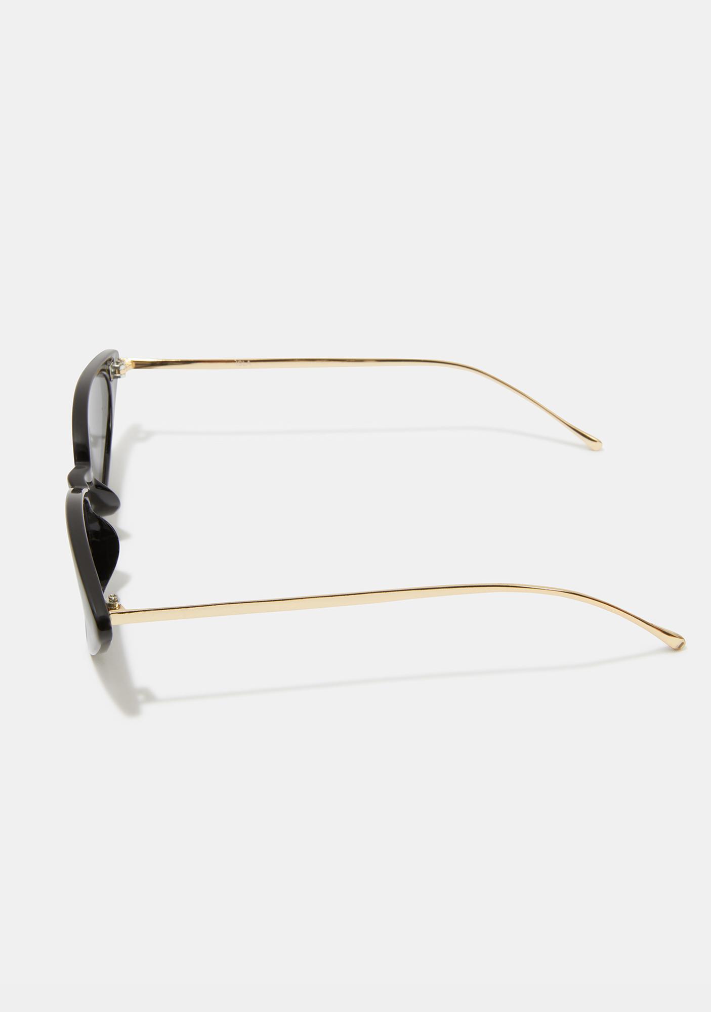 I-SEA Black Smoke Isla Cat-Eye Sunglasses