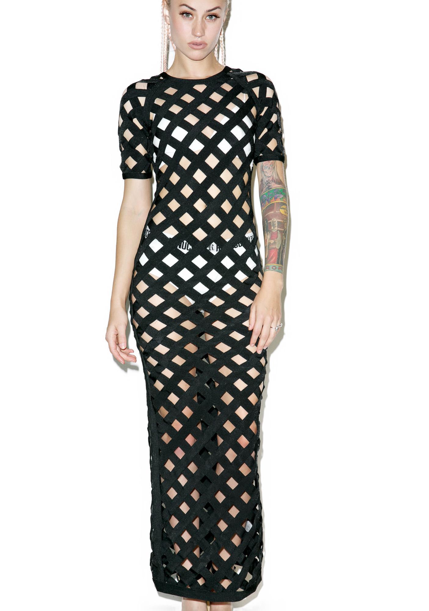 Cross Over Maxi Dress
