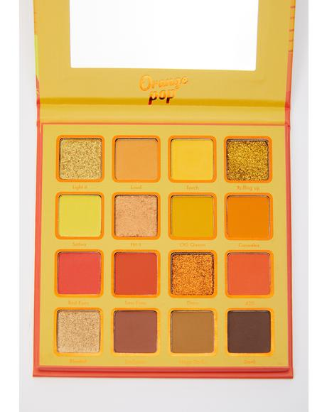 Orange Pop Eyeshadow Palette