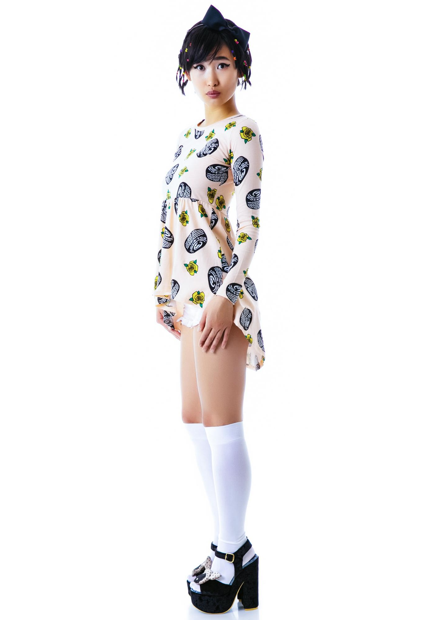 Joyrich Tire Parade Tunic Dress