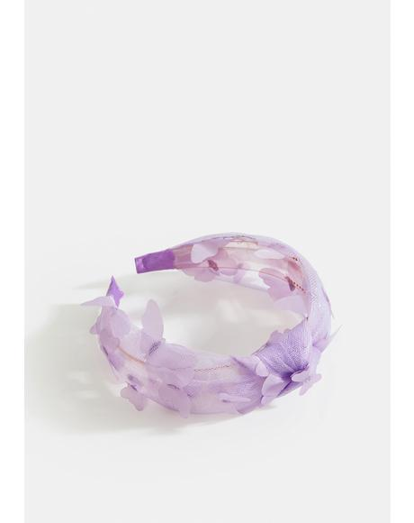Pretty And Patient Tulle Headband