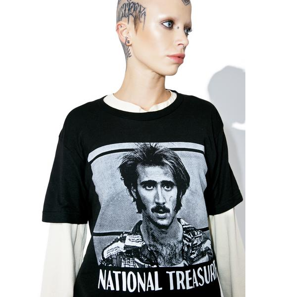 Burger And Friends National Treasure Tee