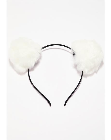 Babe Bear Pom Pom Ears