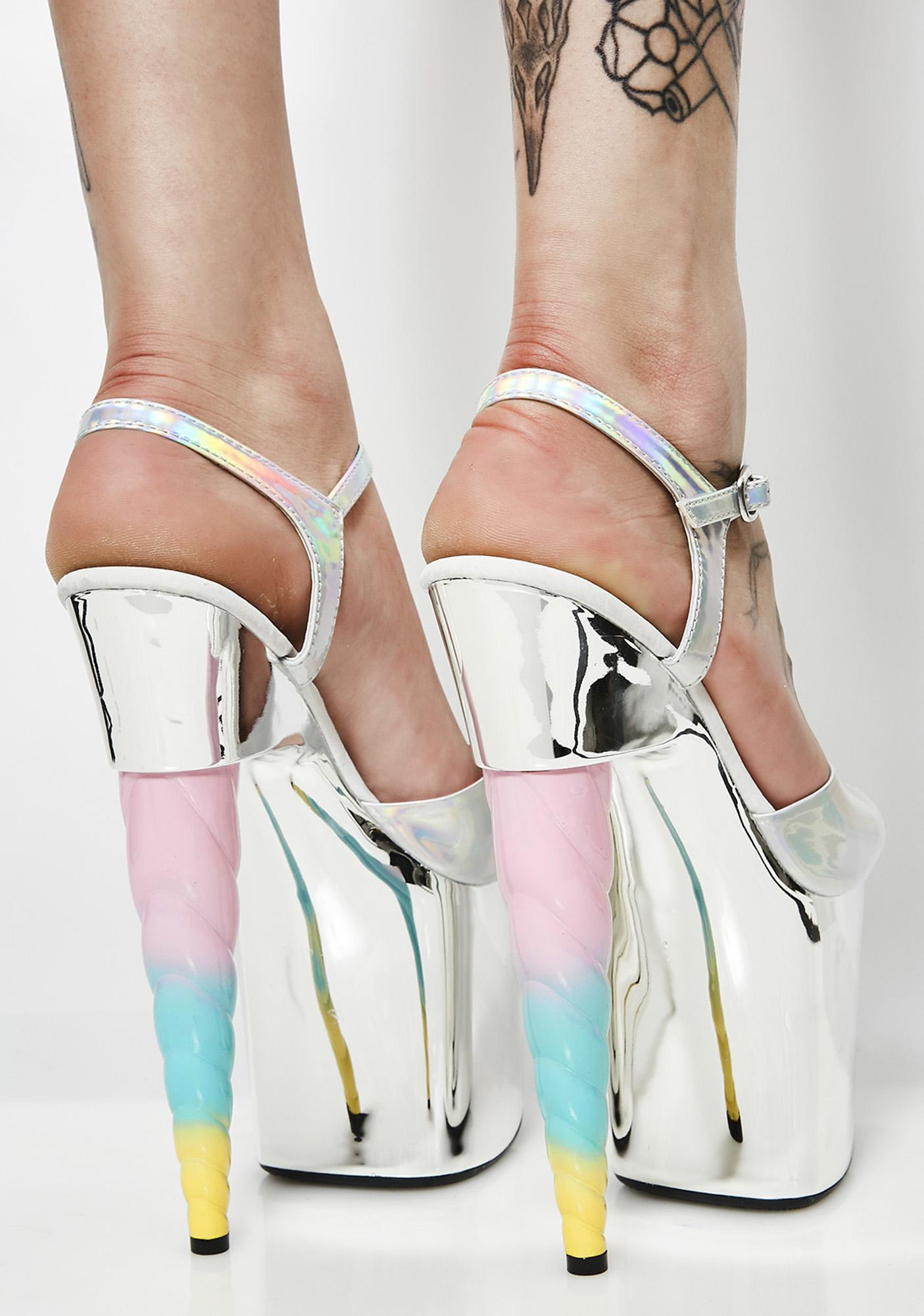 Mythical Magic Unicorn Heels