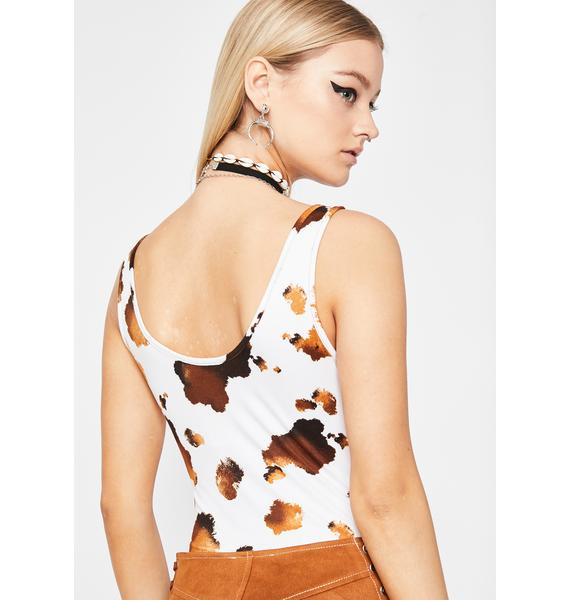 Sharp Shoota Printed Bodysuit