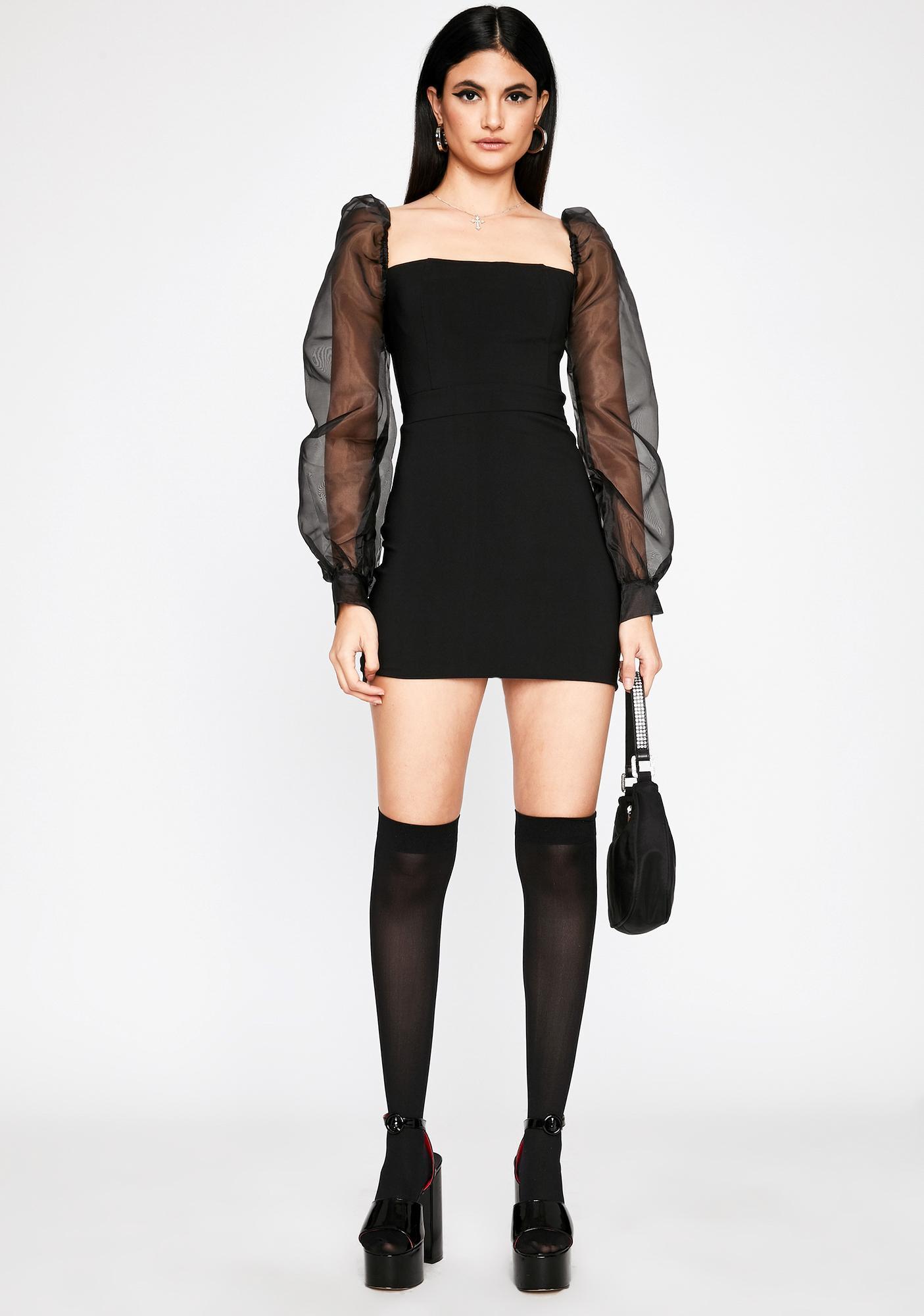Wicked Temptress Mini Dress