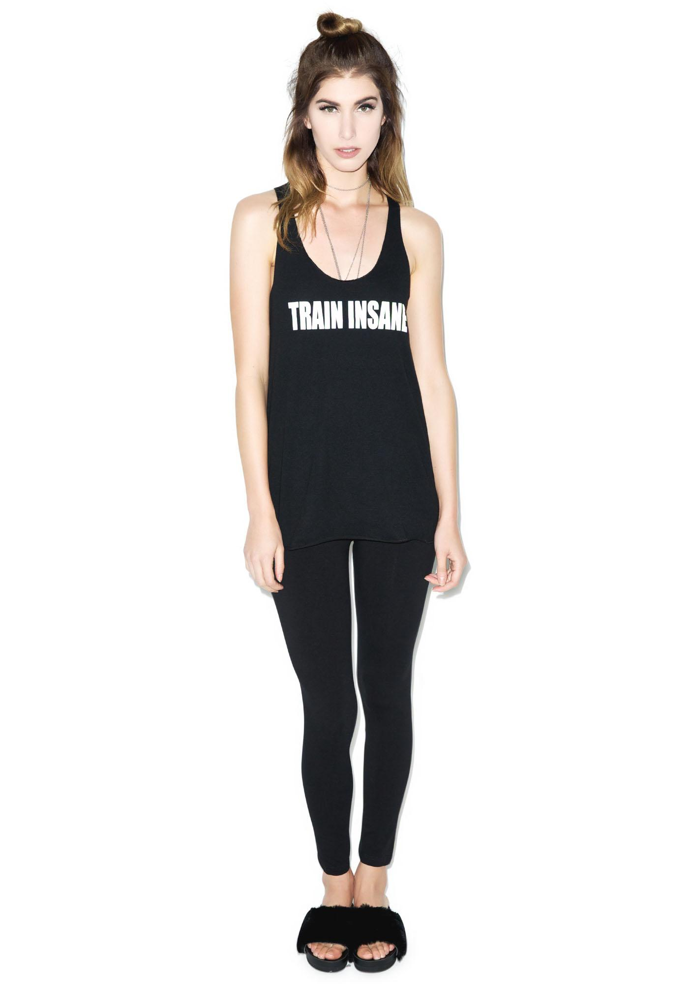 Stylestalker Train Insane Tank Top