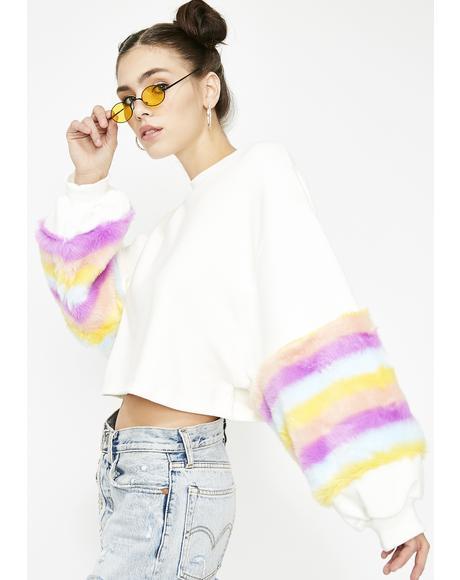 Freaky Fur Real Sweatshirt