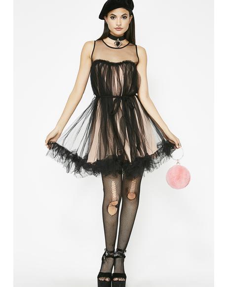 Romantic Splendor Tulle Dress