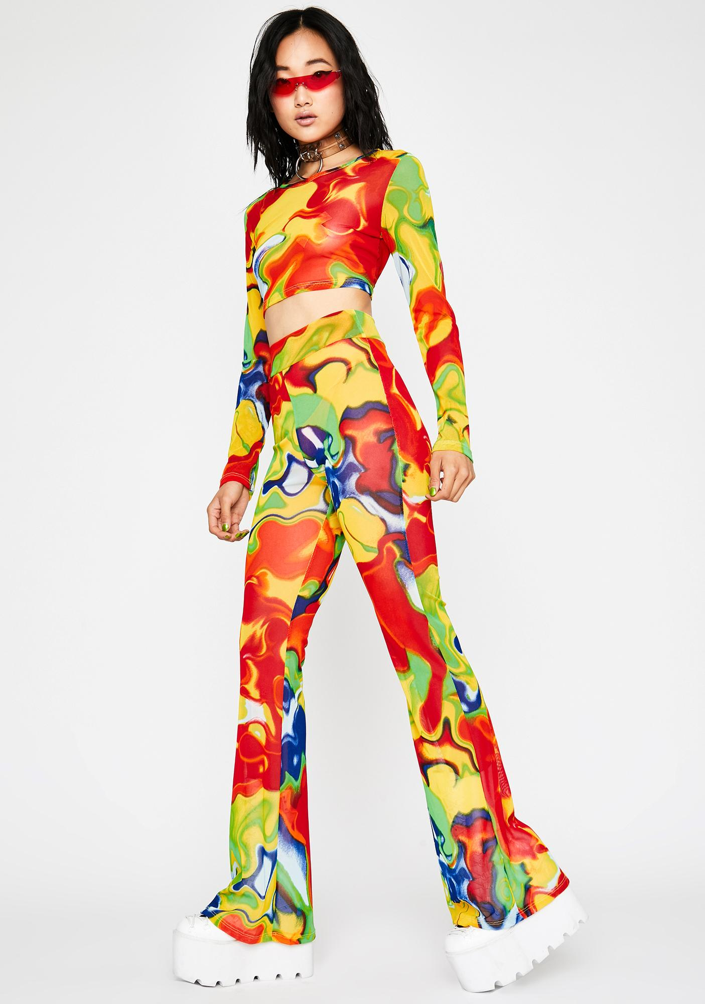 Radioactive This Just In Pant Set