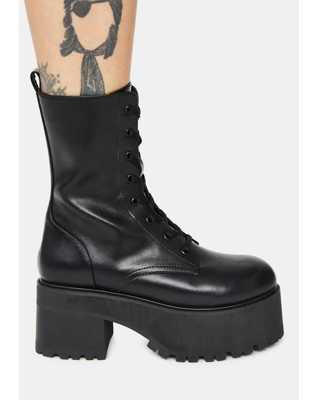 Resonance Remix Combat Boots